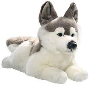 Peluche de Husky de Carl Dick de 40 cm - Los mejores peluches de huskys- Peluches de perros