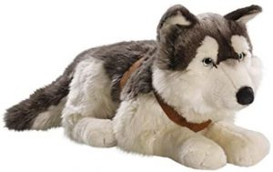 Peluche de Husky de Carl Dick de 60 cm - Los mejores peluches de huskys- Peluches de perros