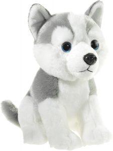 Peluche de Husky de Heunec de 18 cm - Los mejores peluches de huskys- Peluches de perros
