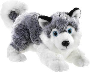 Peluche de Husky de Heunec de 28 cm - Los mejores peluches de huskys - Peluches de perros