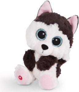 Peluche de Husky de NICI de 15 cm - Los mejores peluches de huskys- Peluches de perros