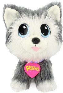 Peluche de Husky de Rescue Runts de 21 cm - Los mejores peluches de huskys- Peluches de perros