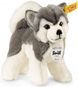 Peluche de Husky de Steiff de 18 cm - Los mejores peluches de huskys- Peluches de perros