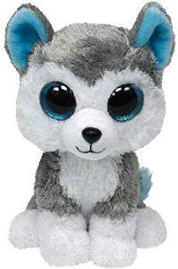 Peluche de Husky de Ty de 15 cm - Los mejores peluches de huskys- Peluches de perros