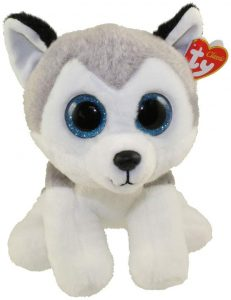 Peluche de Husky de Ty de 23 cm 2 - Los mejores peluches de huskys- Peluches de perros