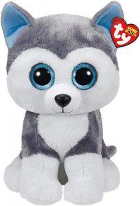 Peluche de Husky de Ty de 40 cm - Los mejores peluches de huskys- Peluches de perros