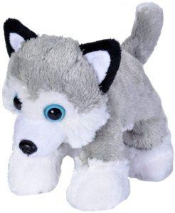 Peluche de Husky de Wild Republic de 18 cm - Los mejores peluches de huskys - Peluches de perros