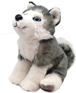 Peluche de Husky de Wild Republic de 20 cm - Los mejores peluches de huskys - Peluches de perros