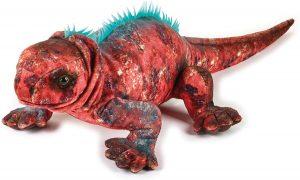 Peluche de Iguana marina de Lelly de 47 cm - Los mejores peluches de iguanas - Peluches de animales