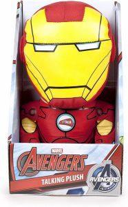 Peluche de Iron man con sonido de 25 cm - Los mejores peluches de Iron-man - Peluches de superhéroes de Marvel