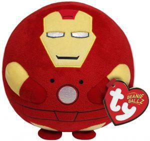 Peluche de Iron man de 13 cm de Ty - Los mejores peluches de Iron-man - Peluches de superhéroes de Marvel
