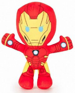 Peluche de Iron man de 19 cm de FEBER - Los mejores peluches de Iron-man - Peluches de superhéroes de Marvel