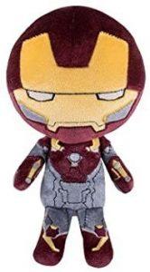 Peluche de Iron man de 20 cm - Los mejores peluches de Iron-man - Peluches de superhéroes de Marvel
