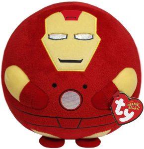 Peluche de Iron man de 20 cm de Ty - Los mejores peluches de Iron-man - Peluches de superhéroes de Marvel