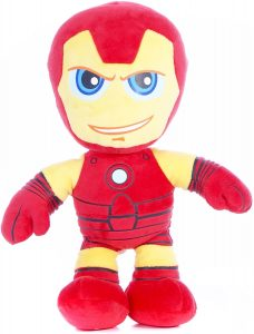 Peluche de Iron man de 25 cm de Disney Marvel Superhero - Los mejores peluches de Iron-man - Peluches de superhéroes de Marvel