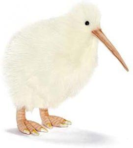 Peluche de Kiwi albino de Hansa de 23 cm - Los mejores peluches de kiwis - Peluches de animales