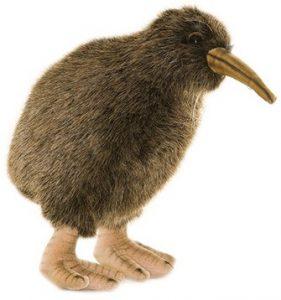 Peluche de Kiwi de Hansa de 20 cm - Los mejores peluches de kiwis - Peluches de animales