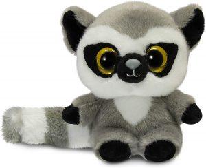 Peluche de Lémur de Aurora de 13 cm - Los mejores peluches de lémures - Peluches de animales