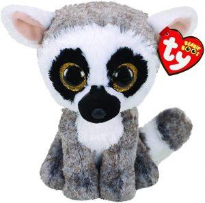 Peluche de Lémur de Ty de 15 cm - Los mejores peluches de lémures - Peluches de animales