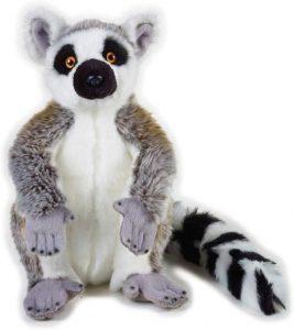 Peluche de Lémur de Venturelli de 30 cm - Los mejores peluches de lémures - Peluches de animales