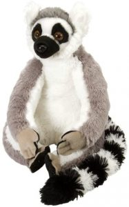 Peluche de Lémur de Wild Republic de 30 cm - Los mejores peluches de lémures - Peluches de animales