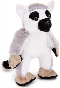 Peluche de Lémur de Zappy Co de 15 cm - Los mejores peluches de lémures - Peluches de animales