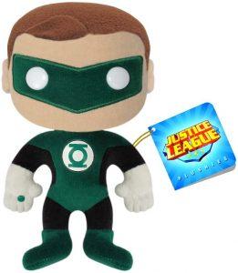 Peluche de Linterna Verde de 18 cm - Los mejores peluches de Linterna Verde - Peluches de superhéroes de DC