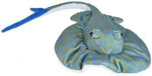 Peluche de Manta Raya Arrecife de Wild Republic de 30 cm - Los mejores peluches de rayas - Peluches de animales