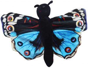 Peluche de Mariposa azul de Wild Republic de 30 cm - Los mejores peluches de mariposas - Peluches de animales