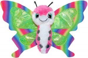 Peluche de Mariposa de Lumo Stars de 15 cm - Los mejores peluches de mariposas - Peluches de animales
