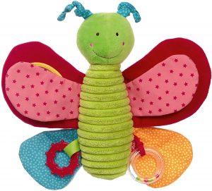 Peluche de Mariposa de Sigikid de 25 cm - Los mejores peluches de mariposas - Peluches de animales