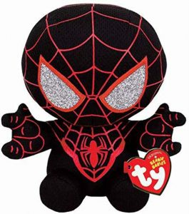 Peluche de Miles Morales de 15 cm Ty - Los mejores peluches de Spiderman de Miles Morales - Peluches de superhéroes de Marvel