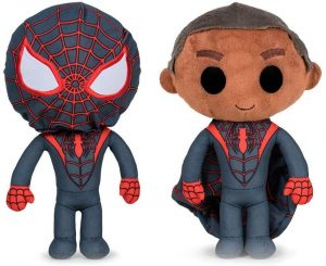 Peluche de Miles Morales de 32 cm con máscara - Los mejores peluches de Spiderman de Miles Morales - Peluches de superhéroes de Marvel