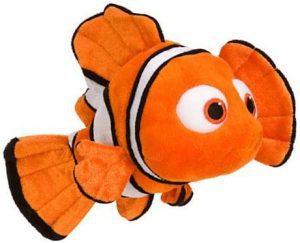 Peluche de Nemo de Buscando a Nemo de 23 cm - Los mejores peluches de Nemo - Peluches de Disney