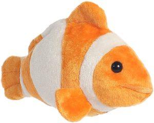 Peluche de Nemo de Buscando a Nemo de Aurora de 20 cm - Los mejores peluches de Nemo - Peluches de Disney