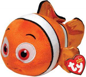 Peluche de Nemo de Buscando a Nemo de Ty de 20 cm - Los mejores peluches de Nemo - Peluches de Disney