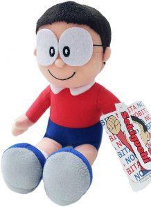 Peluche de Nobita de 23 cm - Los mejores peluches de Doraemon - Peluches de personajes de gato de Doraemon