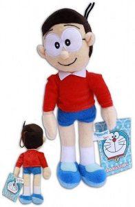 Peluche de Nobita de 33 cm - Los mejores peluches de Doraemon - Peluches de personajes de gato de Doraemon