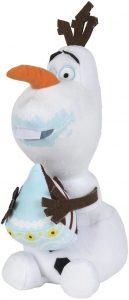 Peluche de Olaf comiendo de Famosa de 25 cm de Frozen - Los mejores peluches de Olaf - Peluches de Disney