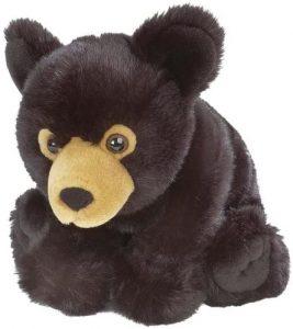 Peluche de Oso Negro de Cuddlekins de 30 cm - Los mejores peluches de osos negros americanos - Peluches de animales