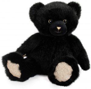 Peluche de Oso Negro de Doudou de 30 cm - Los mejores peluches de osos negros americanos - Peluches de animales