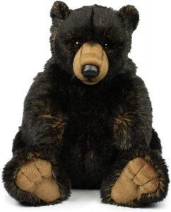 Peluche de Oso Negro de Mimex de 32 cm - Los mejores peluches de osos negros americanos - Peluches de animales
