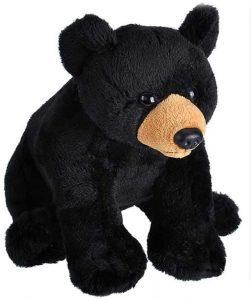 Peluche de Oso Negro de Wild Republic de 15 cm 2 - Los mejores peluches de osos negros americanos - Peluches de animales
