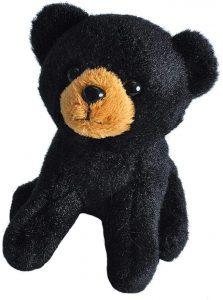Peluche de Oso Negro de Wild Republic de 15 cm - Los mejores peluches de osos negros americanos - Peluches de animales