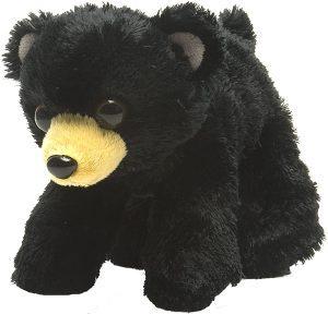 Peluche de Oso Negro de Wild Republic de 18 cm - Los mejores peluches de osos negros americanos - Peluches de animales