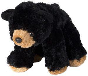 Peluche de Oso Negro de Wild Republic de 20 cm - Los mejores peluches de osos negros americanos - Peluches de animales