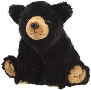 Peluche de Oso Negro de Wild Republic de 30 cm - Los mejores peluches de osos negros americanos - Peluches de animales