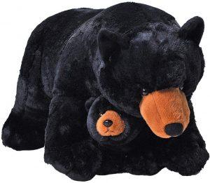 Peluche de Oso Negro y cría de Wild Republic de 72 cm - Los mejores peluches de osos negros americanos - Peluches de animales