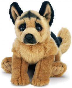 Peluche de Pastor Alemán de Bearington de 33 cm - Los mejores peluches de pastores alemanes - Peluches de perros