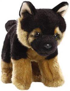 Peluche de Pastor Alemán de Carl Dick de 21 cm 2 - Los mejores peluches de pastores alemanes - Peluches de perros